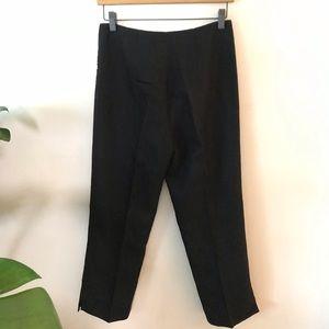 Ann Taylor Linen / Rayon Crop Pants